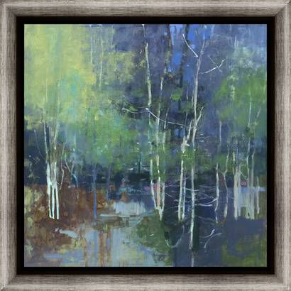 mulberry reflection i by coulter kim newera portfolio 30x30 outer frame