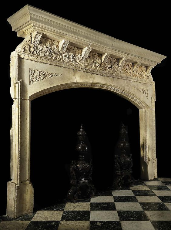 Pinterest the world s catalog of ideas for Tudor fireplaces