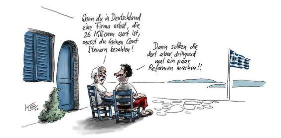 Karikaturen-Galerie: Karikaturen von Stuttmann und Schwalme - Karikatur - Mediacenter - Tagesspiegel