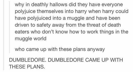 DUMBLEDORE: