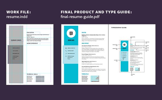 How to create a resume Adobe InDesign CC tutorials Adobe - resume guide