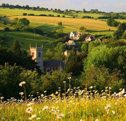 bluepueblo:    Summer Day, Naughton, England  photo via dreams