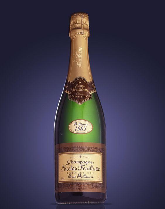 Champagne Nicolas Feuillate, Millésime 1985. Memento #Linea