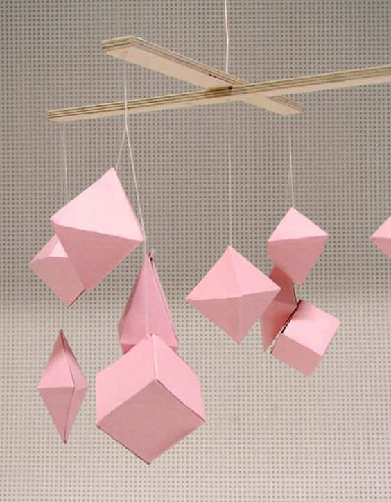 diy mobiles | baby mobiles, paper mobile and search, Innenarchitektur ideen