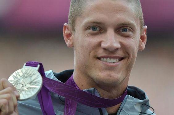 Silver looks good on you Trey Hardee! Olympics 2012 Decathlon