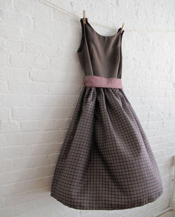 Mixed Fall Tea Dress, $150