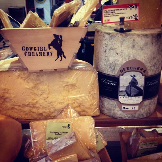 Cowgirl creamery at ferry building