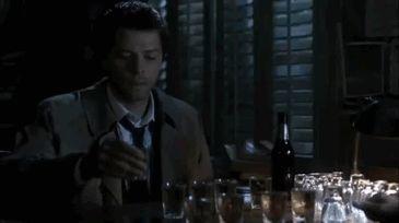 Misha Collins as Castiel ❤❤❤ :)