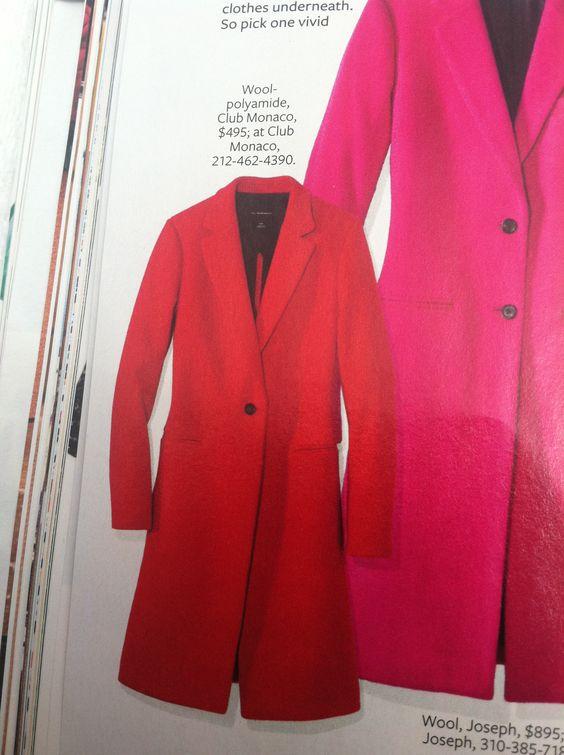 """Beautiful coat for Calif. """"winter"""" :)"""