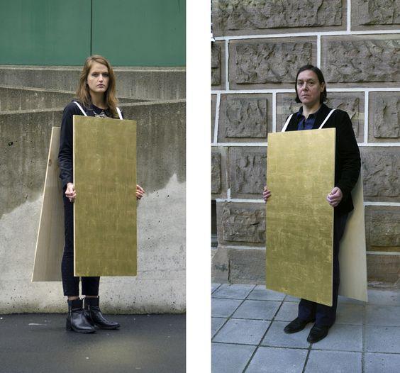 Jhana Millers with mentor Suska Mackert, HandShake 1, Objectspace, Auckland (2013):