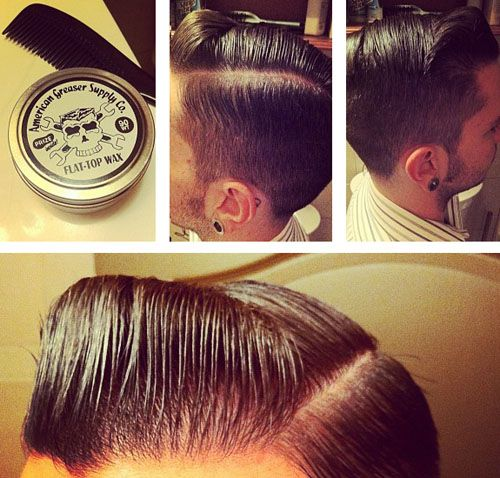Men's rockabilly hairstyles