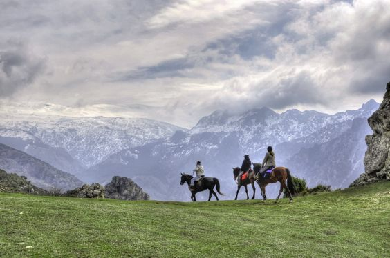 horse-back riding in the Sierra Nevada of southern Spain / A caballo por Sierra Nevada | Christopher Poyato on Flickr