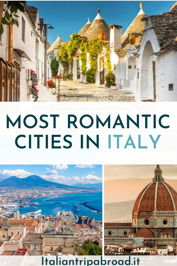 Most romantic cities in ITaly