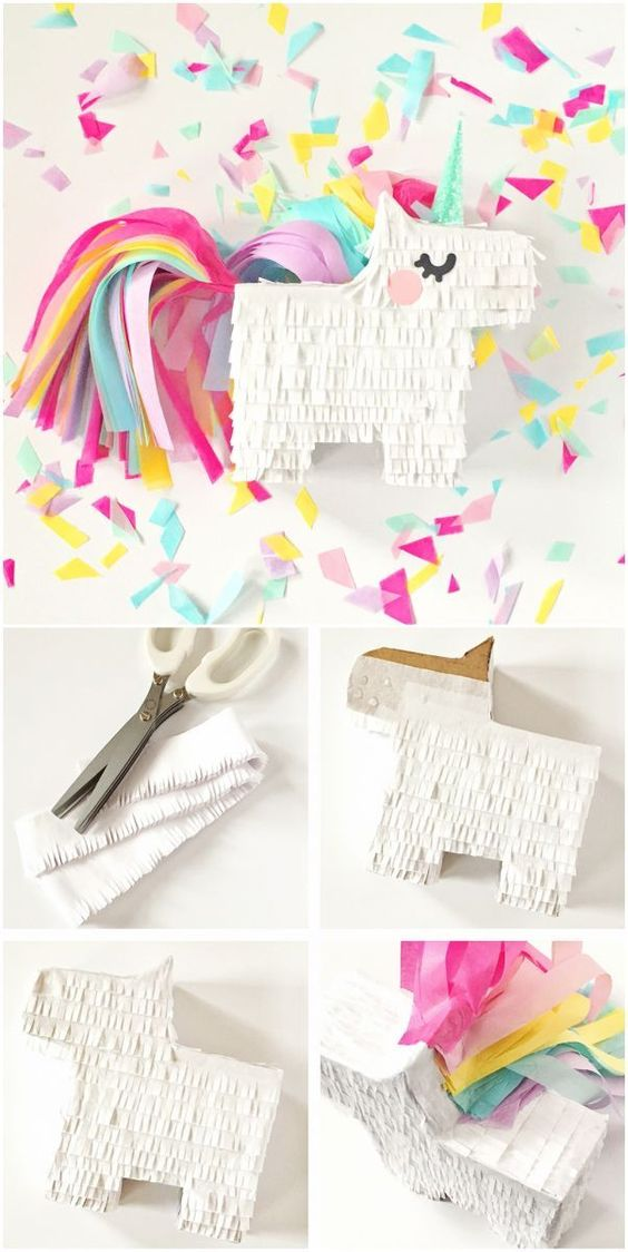 how to make a mini star pinata