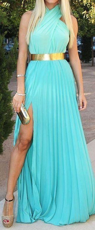 43+ Tiffany blue maxi dress information