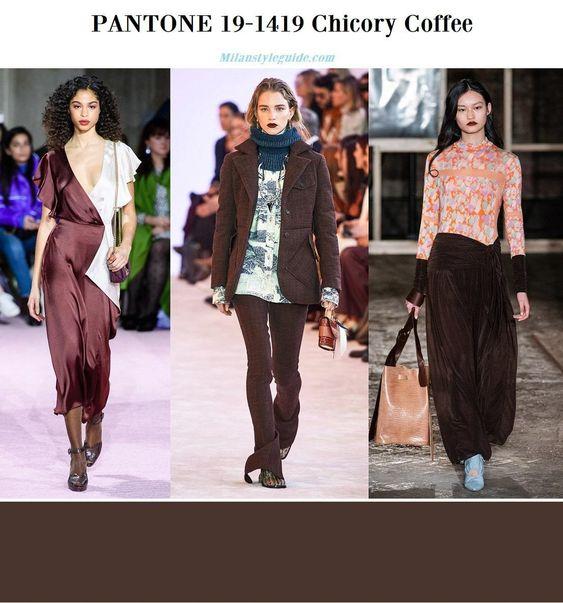 Модные цвета PANTON Осень — Зима 2019/2020 -