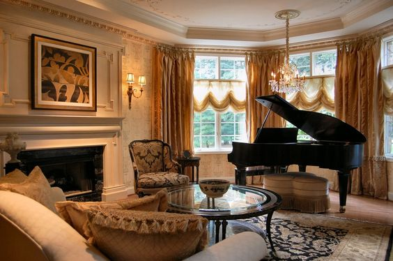 Piano Decorating Baby Grand Pianos And Grand Pianos On