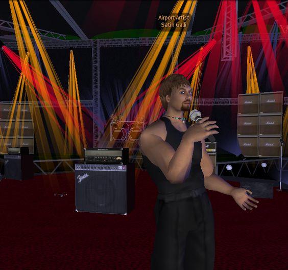 Satin Galin singt live im Apfelland, was für eine Stimme....