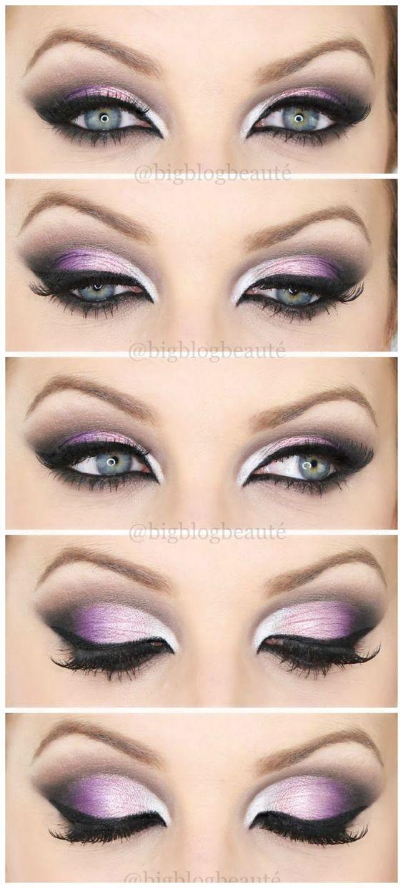 Arabic inspired - Tutoriel maquillage violet | Big Blog Beauté