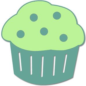 Silhouette Online Store - View Design #16358: muffin