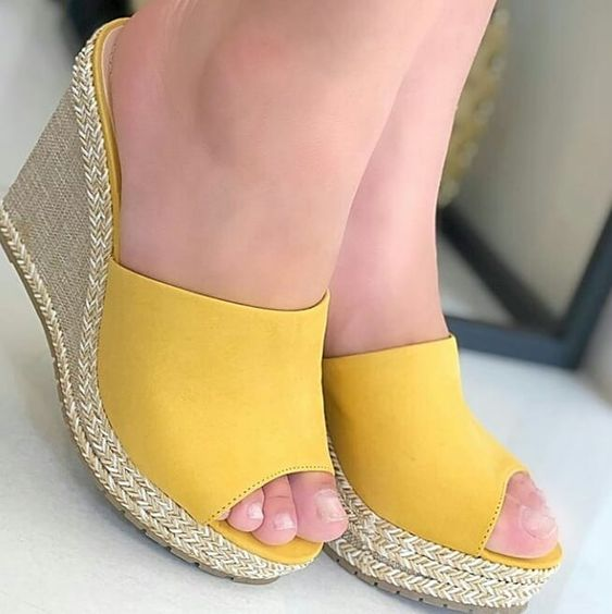 39 Wedges Open Toe To Rock This Season shoes womenshoes footwear shoestrends