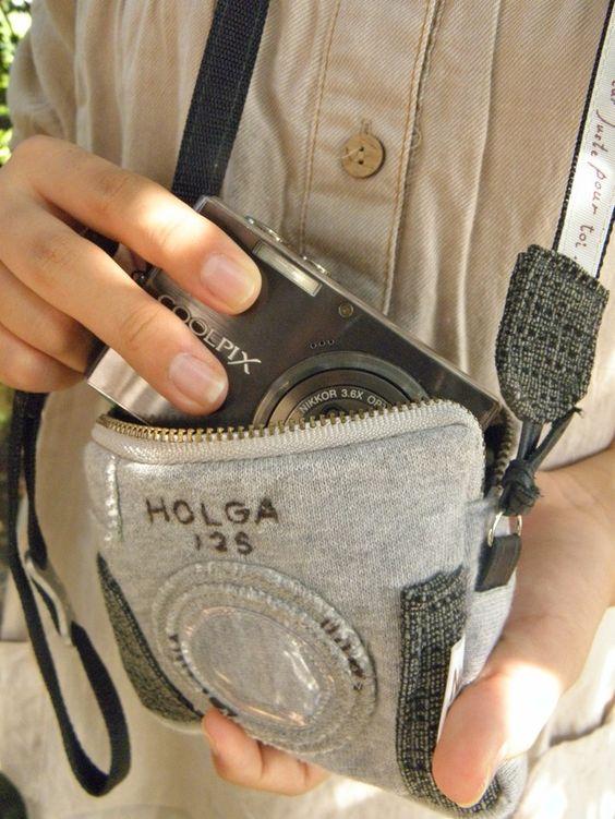 再販カメラポシェット(グレー)