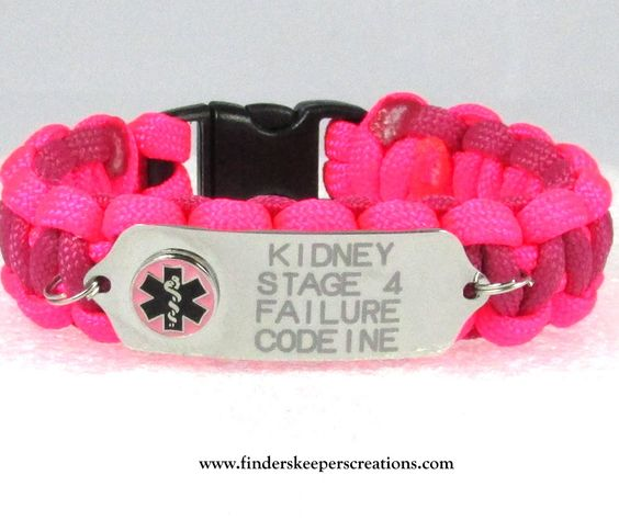 One Sided Medical Alert Bracelet - Finders Keepers Creations, LLC