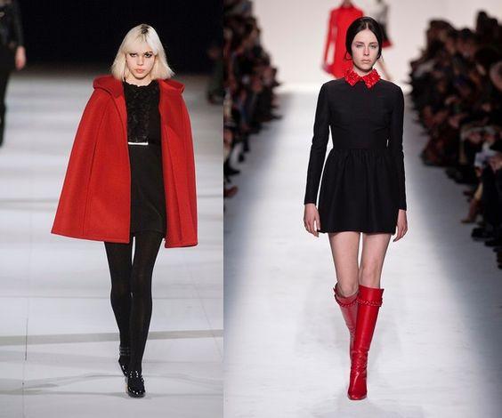 vestiti e accessori rossi per l'inverno