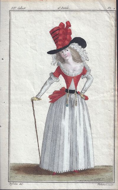 1780-1835 Fashion Plates by peddler_creates, via Flickr