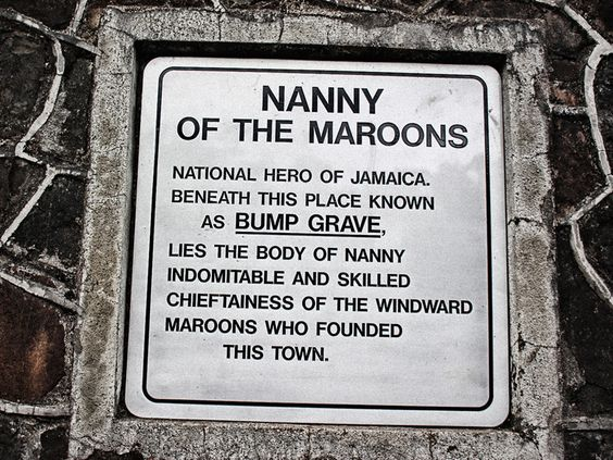 Nanny's final resting place – Bump Grave - in Moore Town, Jamaica ...