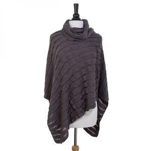 London Grey Poncho -20% off your entire order with code: Winter20