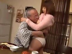 hot young caretaker and old perverted kill