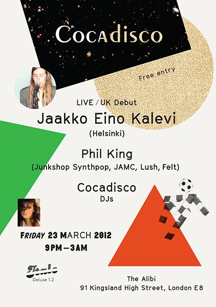 Finnish wizard visits London on March 23 to perform at Cocadisco. Unmissable! http://www.tumblr.com/blog/unexpecteditem/