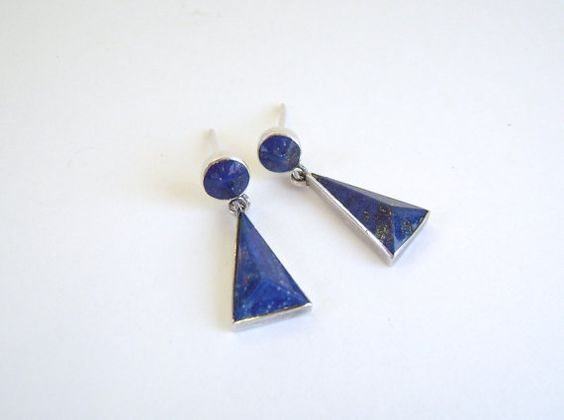 Antique Lapis Earrings