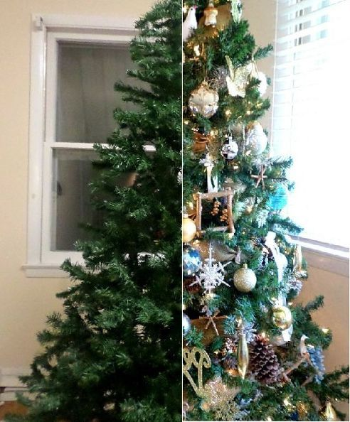 How To Make The Most Of A Cheap Christmas Tree Cheap Christmas Trees Christmas Decorations Cheap Fake Christmas Trees