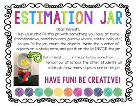 TheHappyTeacher: Using ESTIMATION JARS to Build Number Sense
