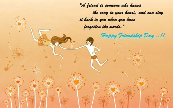 Happy Friendship day quotes images: