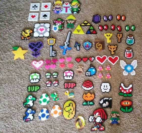 Perler beads I've made