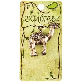 Antique Gold Camel Pendant