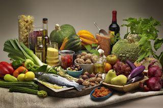 Recetas para Rebajar de Peso: La dieta mediterranea