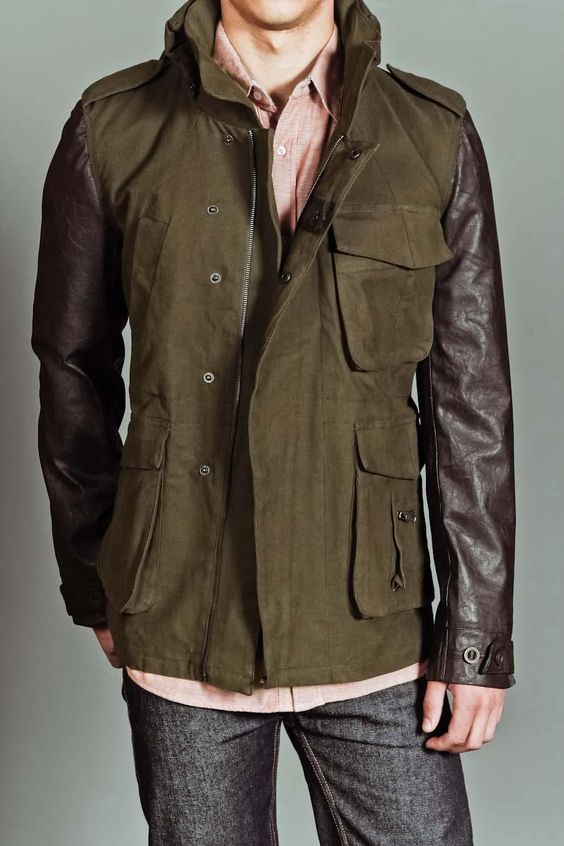 Chambers Ager Jacket With Hidden Removable Hood