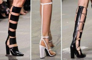 Gladiator laarzen. Helemaal hot komende zomer