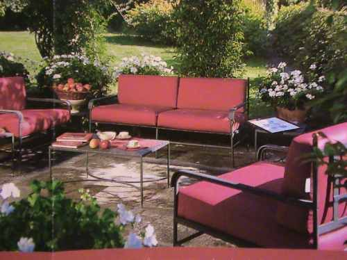 Juego sillones de jardin hierro forjado oferta verano for Ofertas muebles jardin