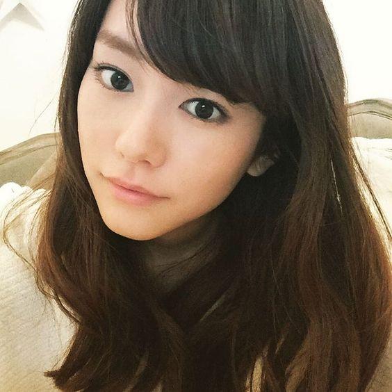 綺麗な髪の桐谷美玲