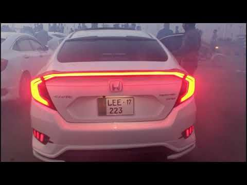 Honda Civic X Modified Pakwheels Gujrawala Auto Show Hd Honda Civic Civic Honda
