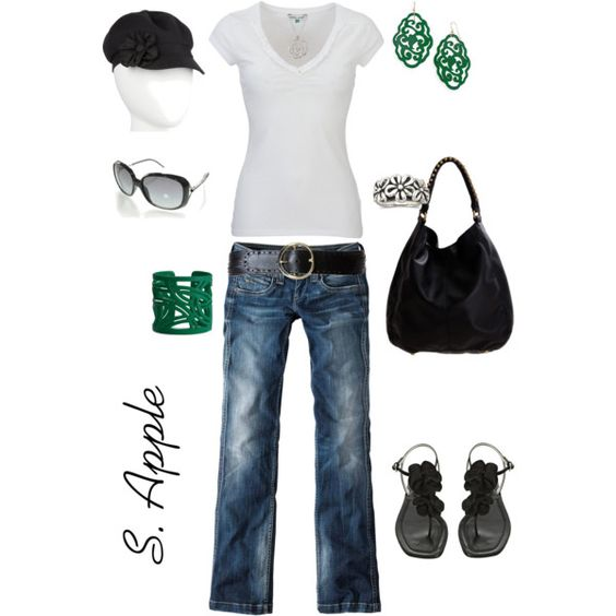 Teal Accents, created by sapple324 on Polyvore