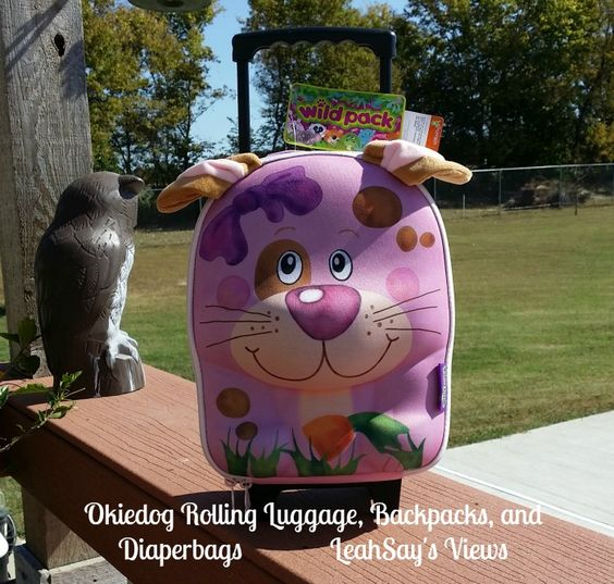 I absolutely adore the fun Wildpack rolling luggage line from Okiedog! YOU have…