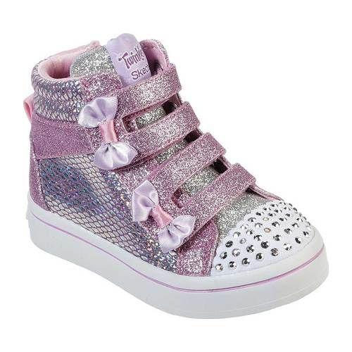 Skechers Twinkle Toes Twi Lites Miss Holla Glam High Top