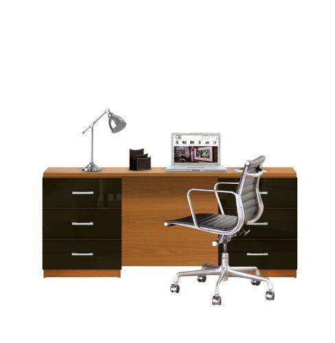Lafayette Computer Desk Contemporary 6 Foot Desk Contemporary Desk Computer Desk Desk