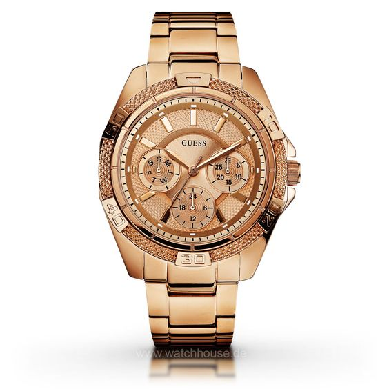 Guess Ladies Sport W0235L3 Damen Multifunktionsuhr